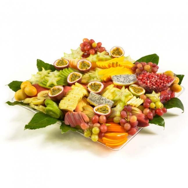 מגש פירות מרובע מפנק