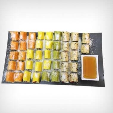 סושי פירות ג'מבו  48 יחידות