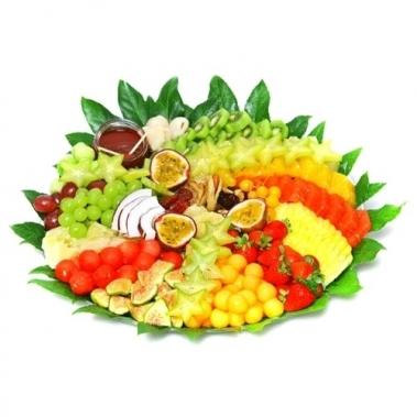 מגש פירות עגול לחג ב2 גדלים