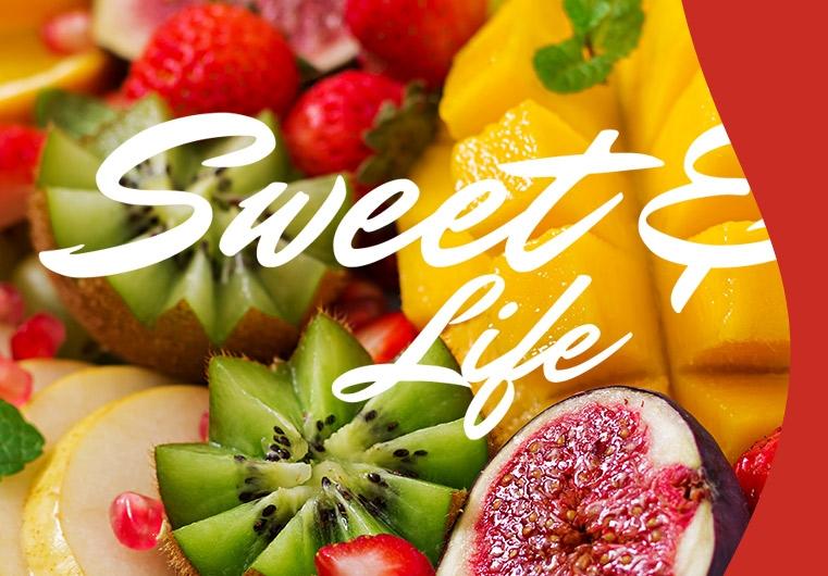 סלסלות פירות ומגשי פירות