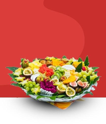 סלסלות פירות
