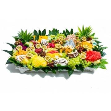 סלסלת פירות באלי גן עדן